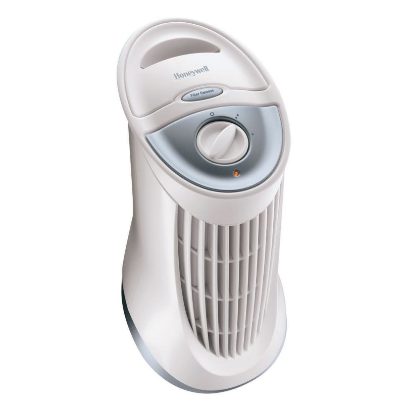 Honeywell QuietClean Tower Air Purifier, White thumbnail